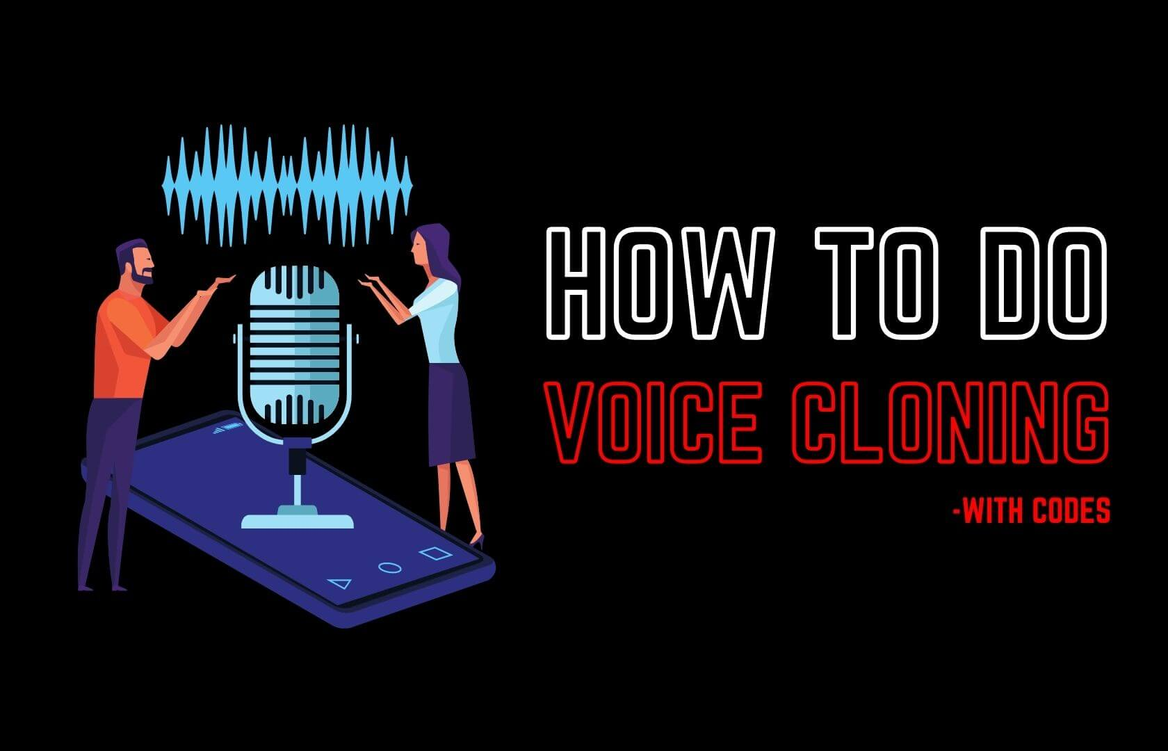 Voice Cloning by buggy programmer