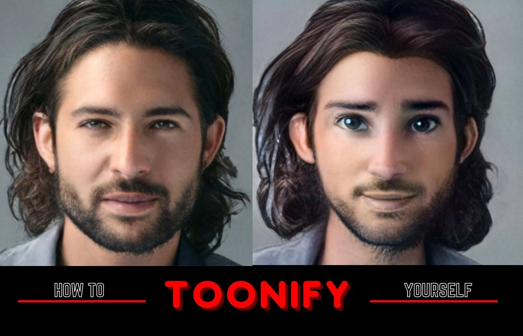 Toonify convert your picture into cartoon avatar