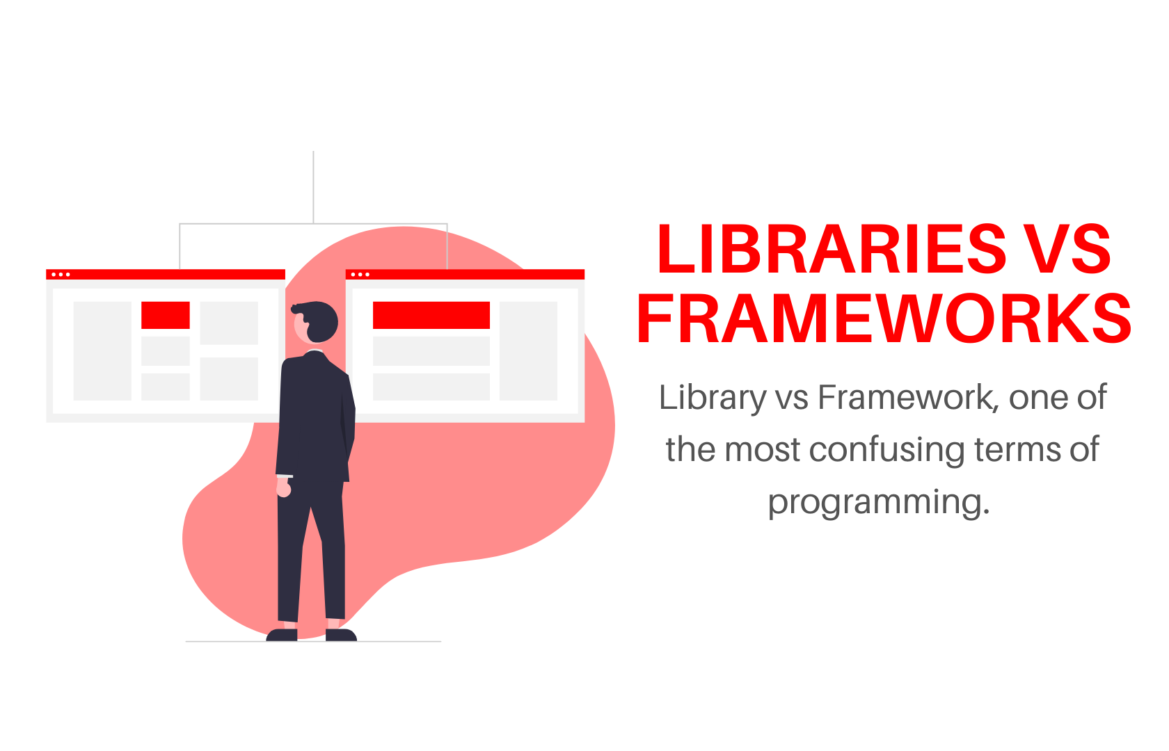 Difference between Libraries and Framework