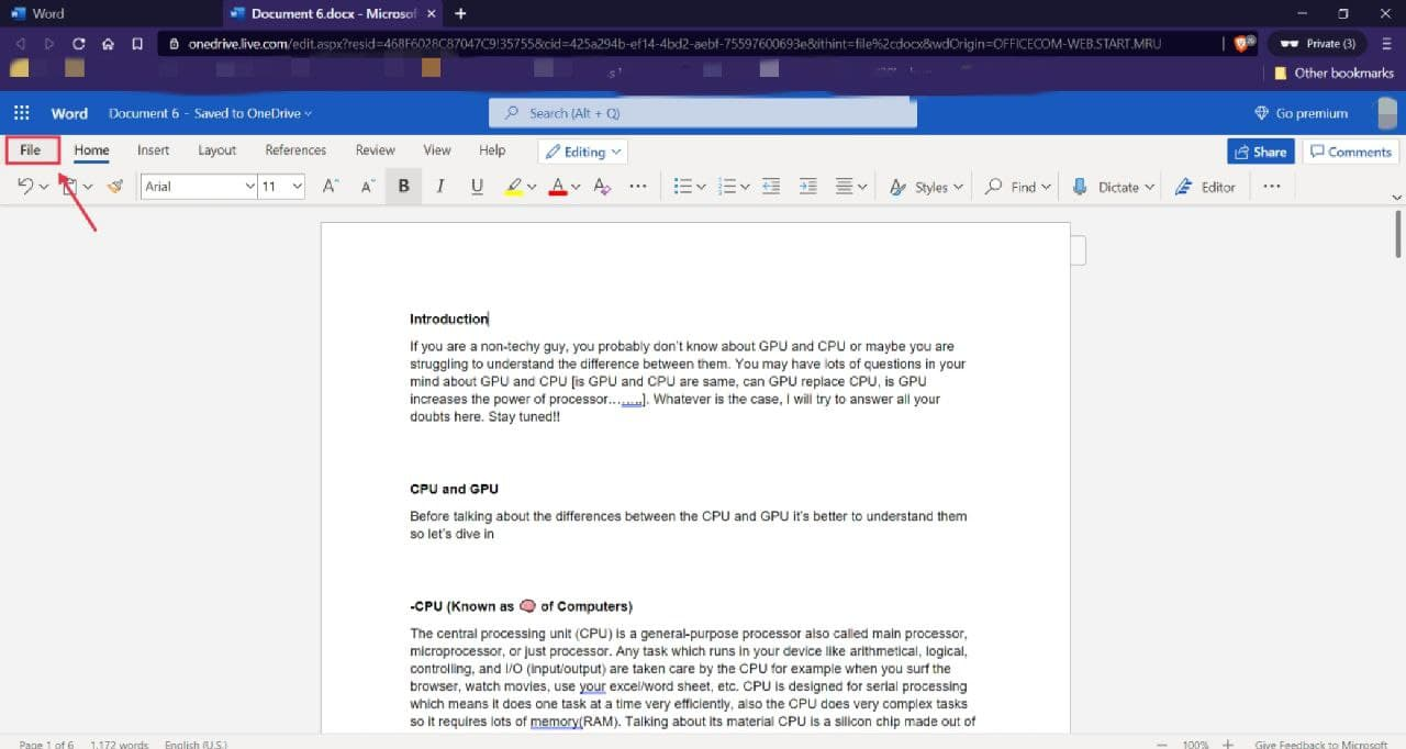 Ms word new feature word to powerpoint presentation