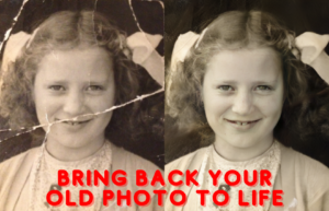 bring old photos back to life