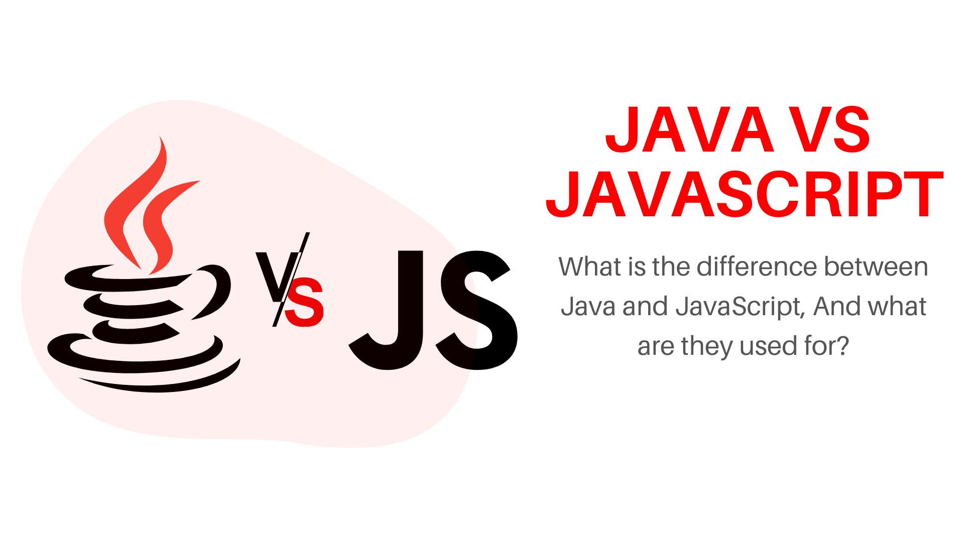 Difference between Java and JavaScript