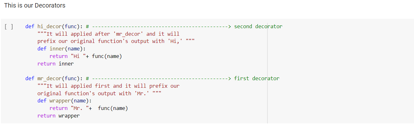 what is decorator in python